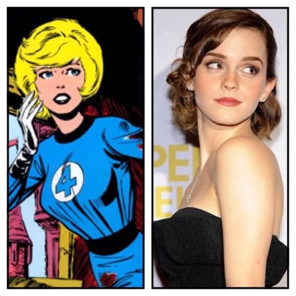 Emma Watson is Sue Storm