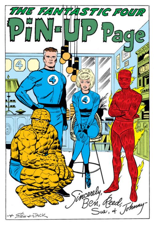 Fantastic Four Pinup