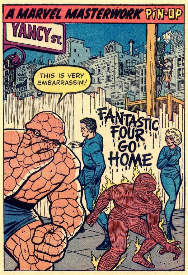 Fantastic Four Go Home!