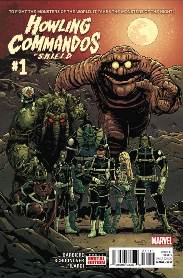 Howling Commandos of S.H.I.E.L.D.#1
