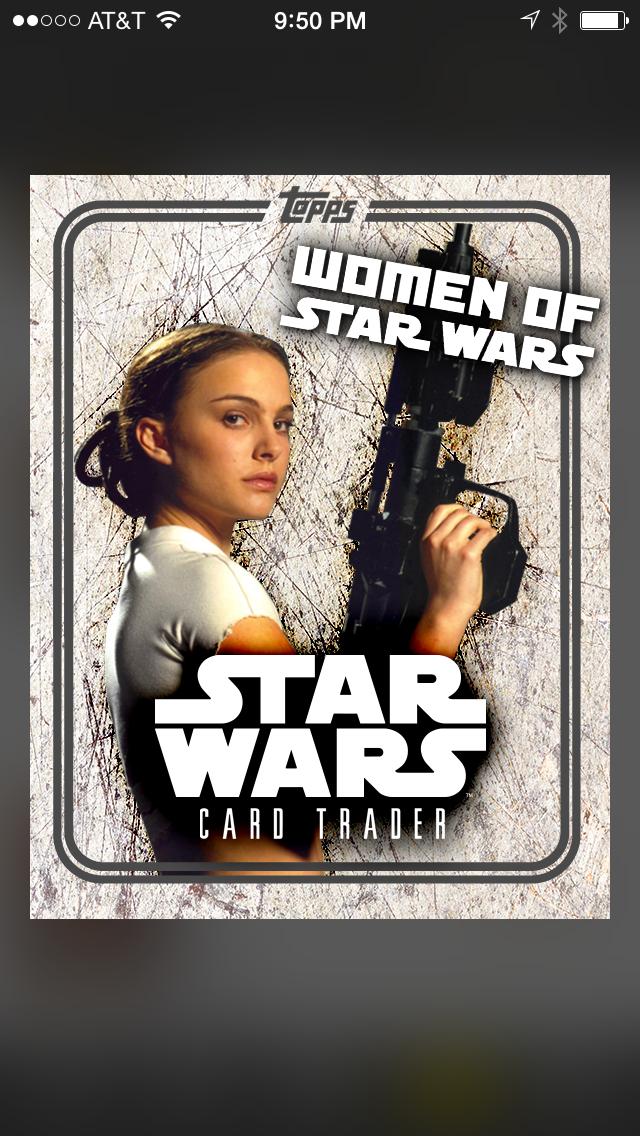 Topps Star Wars Digital Card Trader Comic Pop Pack Art Insert
