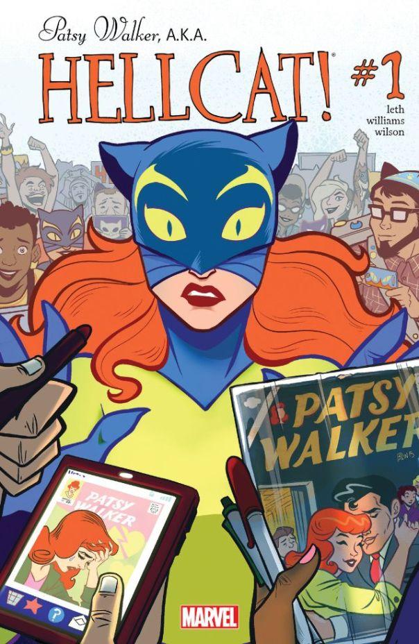 Patsy Walker A.K.A. Hellcat #1