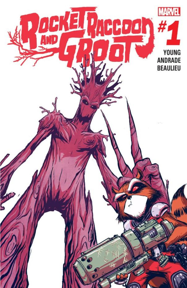 Rocket Raccoon And Groot #1