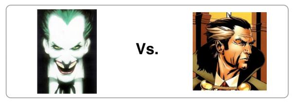 Joker vs Ra's Al Ghul