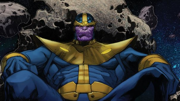 Thanos, like a boss