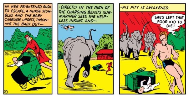 Sub-Mariner by Bill Everett, Marvel Mystery Comics #8