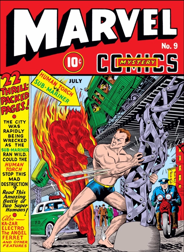 Marvel Mystery Comics #9