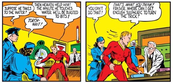 Sub-Mariner by Bill Everett, Marvel Mystery Comics #9