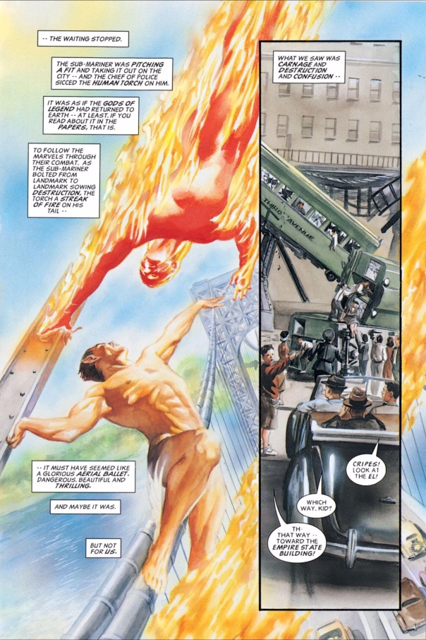 Marvels #1 by Alex Ross & Kurt Busiek