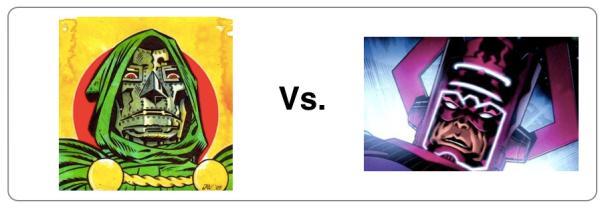 Doom vs. Galactus