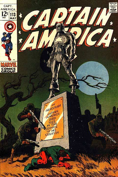 Captain America #113 by Steranko
