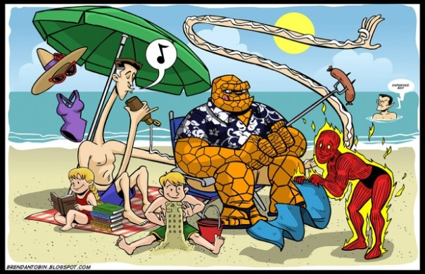 superhero summer by Brendan Tobin