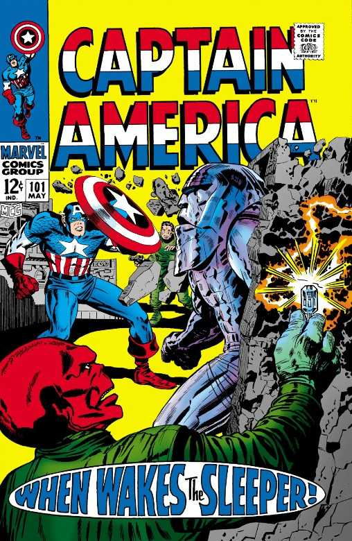 Captain America #101