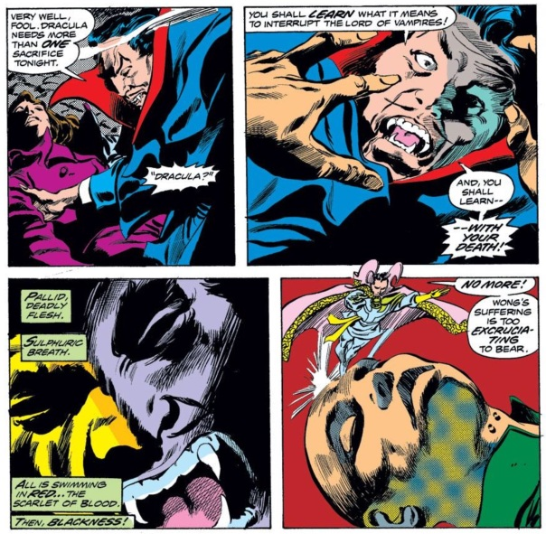 Tomb of Dracula #44 by Wolfman, Colan, and Palmer