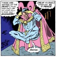Doctor Strange vs. Dracula!