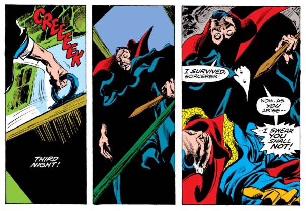 Doctor Strange #14, by Englehart, Colan, and Palmer