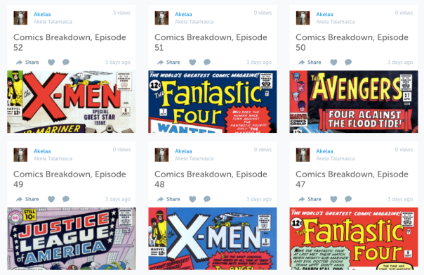 Comics Breakdown
