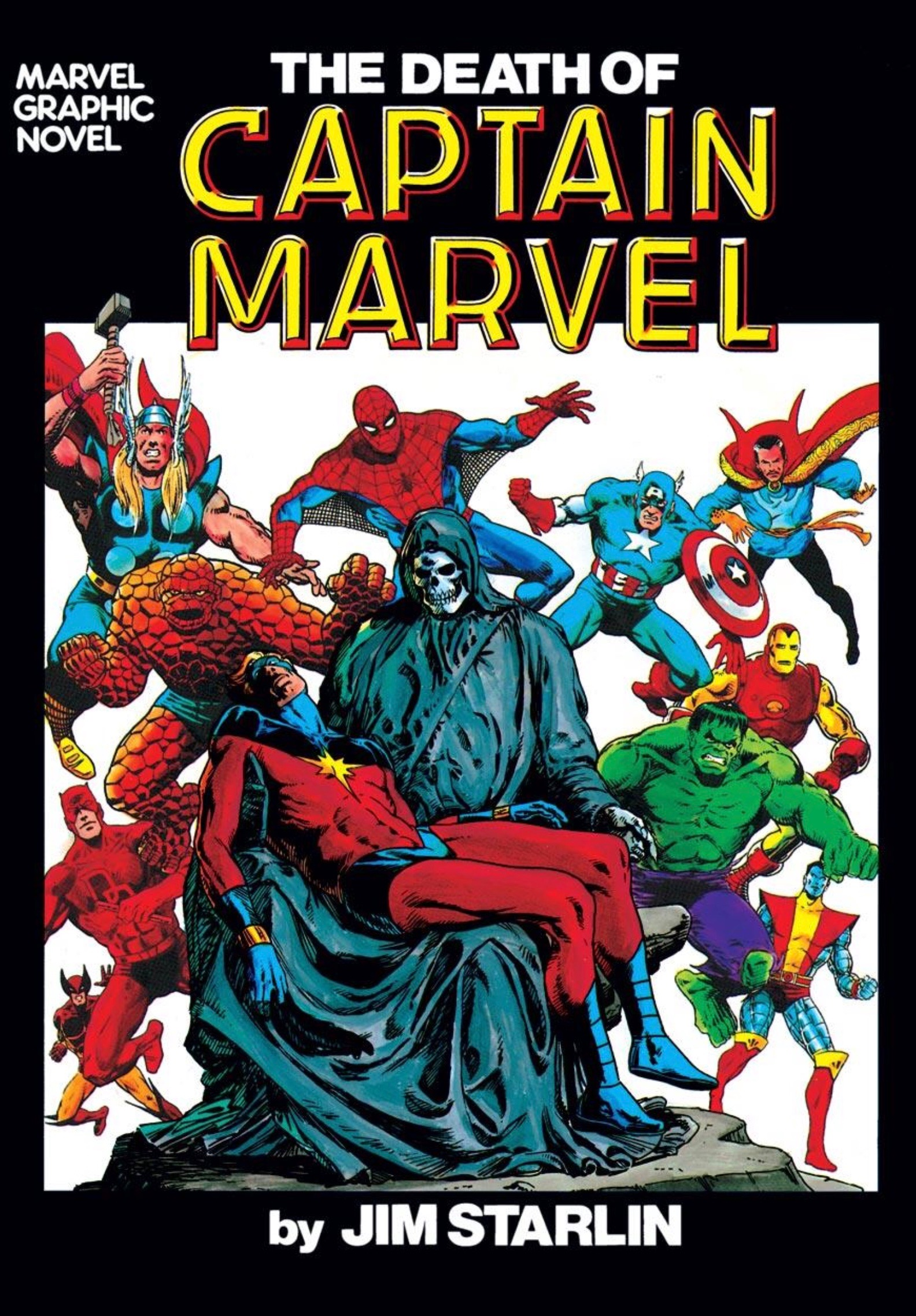 The Death of Captain Marvel