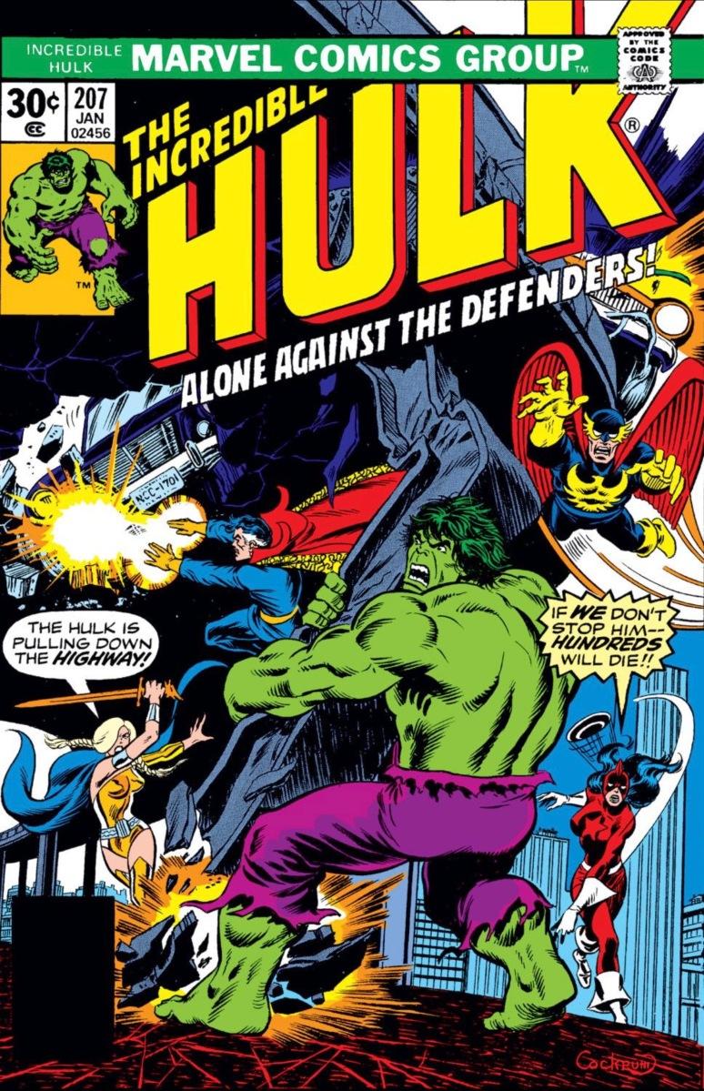 Incredible Hulk #207