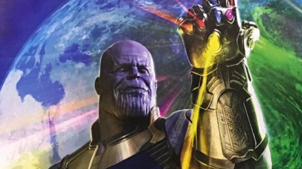 Avengers Infinity War: Thanos!