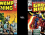 Vote In The Tournament of Terror Final — Swamp Thing vs GhostRider!