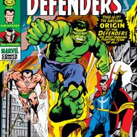 The Secret Origin of The Defenders!
